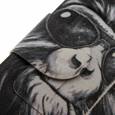 Фотография Smoking Monkey Pattern Cover Case with Stand and Card Slot for Sony Xperia Z3