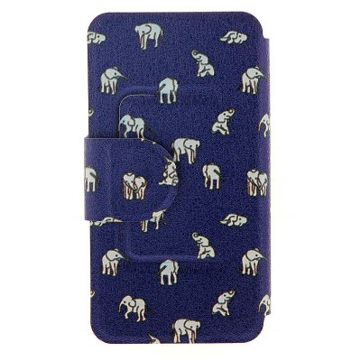 Фотография Indian Elephants Cover Case with Stand and Card Slot for Motorola moto E