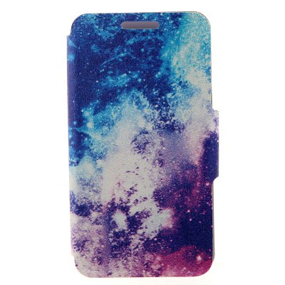 Milky Way Cover Case with Stand and Card Slot for Motorola moto E