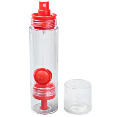 Multi-function Leakproof Squeeze Button Type Caster Oil Bottle with Nozzle Cruet Essential Bottle