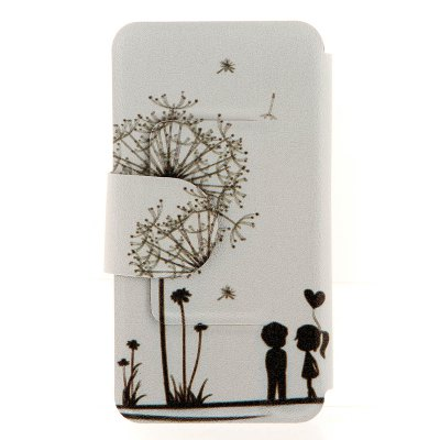 ФОТО Dandelion Pattern Cover Case with Stand and Card Slot for Motorola moto E