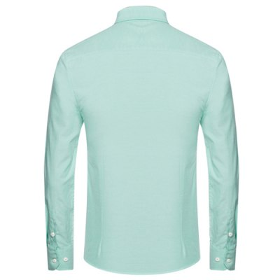 Slimming Simple Solid Color Turn-Down Collar Long Sleeve Mens Button-Down ShirtMens Shirts<br>Slimming Simple Solid Color Turn-Down Collar Long Sleeve Mens Button-Down Shirt<br><br>Shirts Type: Casual Shirts<br>Material: Cotton, Polyester<br>Sleeve Length: Full<br>Collar: Turn-down Collar<br>Weight: 0.327KG<br>Package Contents: 1 x Shirt