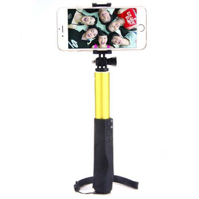 Гаджет   CUCELL Bluetooth Wireless RC Self Timer Stretch Camera Monopod with Rotating Clip Stand iPhone Selfie Monopod