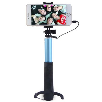 CUCELL 3.5mm Cable RC Selfie Monopod