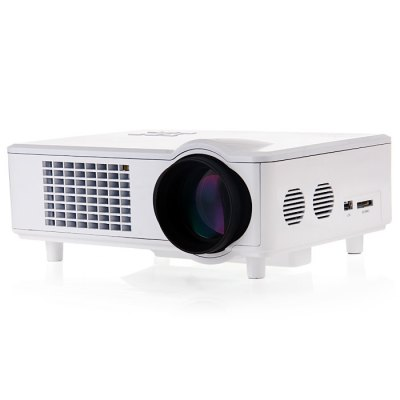 T928 LCD Projector HDMI VGAProjectors<br>T928 LCD Projector HDMI VGA<br><br>Model: T928<br>Color: White<br>Material: Glass, Plastic<br>Display Type: LCD<br>Native Resolution: 1280 x 768<br>Aspect Ratio : 16:9 / 4:3<br>Resolution Support: 1080P<br>Brightness: 3000 Lumens<br>Contrast Ratio: 2000:1<br>Lamp Life: 30000 hours<br>Throw Ration: 1:1.5<br>Projection Distance: 2 - 6 m<br>Lens : F = 2.8, f = 210 nm<br>Image Scale: 16:9, 4:3<br>Image Size: 25-200 inch<br>Power Supply: 110-220V<br>Lamp: LED<br>Interface: USB, SD Card Slot, HDMI, VGA<br>Product Weight: 2.358 kg<br>Package Weight: 3.335 kg<br>Product Size (L x W x H): 29.0 x 21.5 x 10.5 cm / 11.40 x 8.45 x 4.13 inches<br>Package Size (L x W x H): 36.0 x 29.0 x 18.5 cm / 14.15 x 11.40 x 7.27 inches<br>Package Contents: 1 x T928 Home Theater LCD Projector 3000LM 1280 x 768 Pixels, 1 x Power Cord, 1 x Remote Controller, 1 x AV Cable, 1 x Lens-cleaning Paper, 1 x English Manual