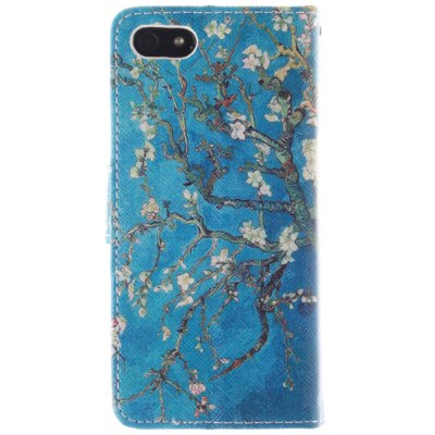 ФОТО Apricot Blossom Pattern Cover Case for iPhone 5 / 5S