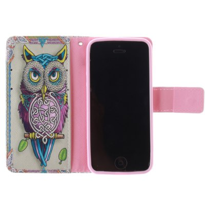 Фотография Owl Design Cover Case with Support for iPhone 5 / 5s