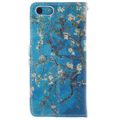 ФОТО Apricot Blossom Pattern Cover Case with Stand for iPhone 5C