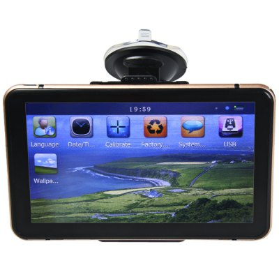 Гаджет   G6 7 Inch GPS Vehicle Car Navigator Car GPS & Tracking