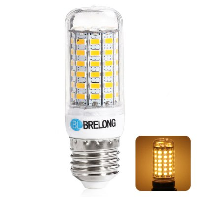 BRELONG E27 8W 69 SMD 5730 3000 - 3500K LED Corn Bulb