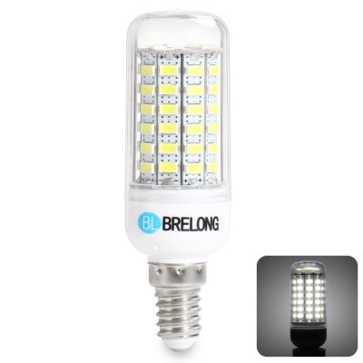 BRELONG E14 15W 69 SMD 5730 6000 - 6500K LED Corn Bulb