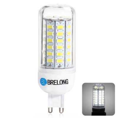 BRELONG G9 12W 56 SMD 5730 6000 - 6500K LED Corn Bulb