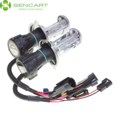 2 x SENCART H4 P43T 4300K 35W 3300LM HID Xenon Car Head LightLED Bi-pin Lights<br>2 x SENCART H4 P43T 4300K 35W 3300LM HID Xenon Car Head Light<br><br>Brand: Sencart<br>Car light type: Fog Light,Daytime Running Light,High / Low Beam Lamp,Headlamp<br>Connector: H4,P43T<br>Wattage (W): 35<br>Luminous Flux: 3300LM<br>CCT/Wavelength: 6000K,4300K,8000K<br>Voltage (V): DC 12<br>Features: High Output,Easy to use,IP65 Waterproof Standard<br>Available Light Color: White,Natural White,Cold White<br>Sheathing Material: Glass,ABS<br>Product weight: 0.035 kg<br>Package weight: 0.223 kg<br>Product size (L x W x H): 7.10 x 4.00 x 4.00 cm / 2.8 x 1.57 x 1.57 inches<br>Package size (L x W x H): 8.10 x 5.00 x 5.00 cm / 3.19 x 1.97 x 1.97 inches<br>Package Contents: 2 x SENCART HID Lamp