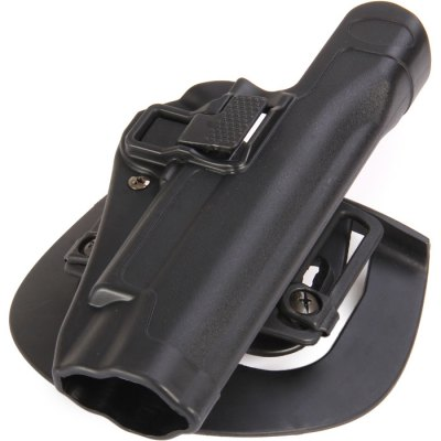 Right Hand Extended Holster for 1911 Pistol with Belt Loop AttachmentCamping / Hiking<br>Right Hand Extended Holster for 1911 Pistol with Belt Loop Attachment<br><br>Material: Polymer<br>Color: Black, Soil Color<br>Product weight: 0.139 kg<br>Package weight  : 0.245 kg<br>Product size (L x W x H): 20.5 x 10.0 x 6 cm / 8.06 x 3.93 x 2.36 inches<br>Package size (L x W x H): 28.0 x 13.5 x 8.0 cm / 11.00 x 5.31 x 3.14 inches<br>Package contents: 1 x Right Hand Waist Extended Holster for 1911 Pistol, 1 x Belt Loop Attachment