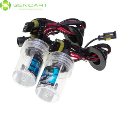 Гаджет   Pair of SENCART H15 PGJ23T1 55W 4500LM HID Xenon Light DC 12V LED Light Bulbs