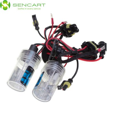 Гаджет   Pair of SENCART H15 PGJ23T1 55W 6000K 4500LM HID Xenon Car Head Light LED Light Bulbs