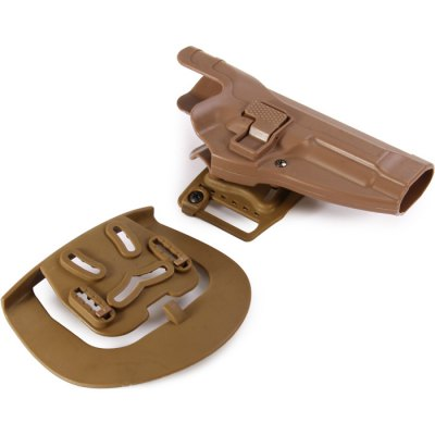 Right Hand Extended Holster for M92 Pistol with Belt Loop Attachment