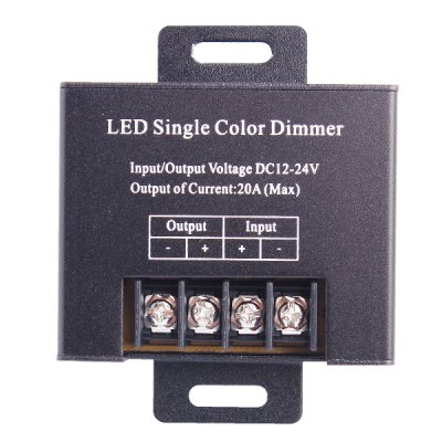 Гаджет   RF 20A 1 - Channel Single Color Dimmer + Remote Controller ( DC 12 - 24V ) LED Accessories
