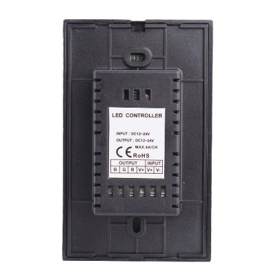 12A 3-Channel Touch LED Panel Dimmer