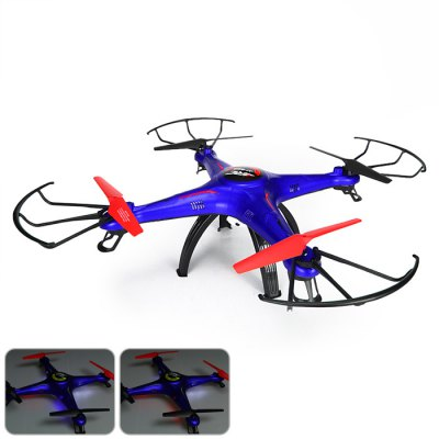Гаджет   JJRC - 669 - 4 2.4G 4CH FPV RC Quadcopter 6 Axis Gyro 3D Flip UFO with HD Camera RC Quadcopters