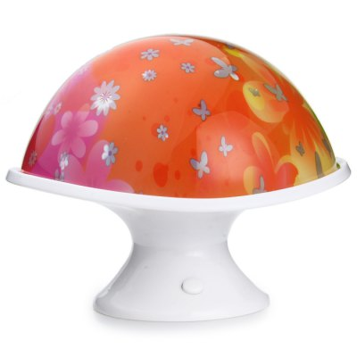 Гаджет   PYX Multi - Color Mushroom Atmosphere lamp for Children Build - in AAA Battery Slot Home Decor