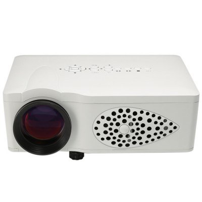 FB3700 LCD Projector 750LM 800 x 480 PixelsProjectors<br>FB3700 LCD Projector 750LM 800 x 480 Pixels<br><br>Model: FB3700<br>Color: White, Black<br>Material: Plastic, Glass<br>Display Type: LCD<br>Native Resolution: 800 x 480<br>Aspect Ratio : 16:9 / 4:3<br>Resolution Support: 1080P<br>Brightness: 750 Lumens<br>Contrast Ratio: 1000:1<br>Lamp Life: 20000 hours<br>Throw Ration: 1.6:1<br>Projection Distance: 1.5 - 3 m<br>Image Scale: 4:3, 16:9<br>Image Size: 45 - 125 inch<br>Power Supply: 12V<br>Lamp: LED<br>Interface: USB, SD Card Slot, HDMI, AV, VGA<br>Product Weight: 0.850 kg<br>Package Weight: 1.45 kg<br>Product Size (L x W x H): 20.0 x 14.0 x 7.5 cm / 7.86 x 5.50 x 2.95 inches<br>Package Size (L x W x H): 29.5 x 18.0 x 12.0 cm / 11.59 x 7.07 x 4.72 inches<br>Package Contents: 1 x FB3700 LCD Projector 750LM 800 x 480 Pixels FHD 1080P Media Player, 1 x Power Adapter, 1 x Remote Controller, 1 x English Manual