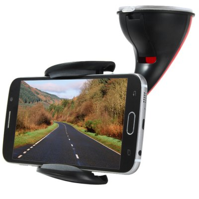 15HD06 Universal Car Truck Windshield 360 Degree Rotation Suction Cup Mount Holder for Mobile Phone / GPS