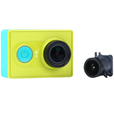 Replacement Camera Lens 150 Degree Wide-angle Lens for Xiaomi Yi Action Camera