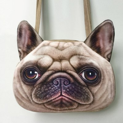6.5L Women Cute Dog Head Style Single Shoulder BagSling Bag<br>6.5L Women Cute Dog Head Style Single Shoulder Bag<br><br>Type: Sling Bag<br>For: Fishing, Hiking, Adventure, Camping<br>Material: Polyester<br>Product weight   : 0.210 kg<br>Package weight   : 0.250 kg<br>Product size (L x W x H)   : 38.0 x 27.0 x 8.0 cm / 14.93 x 10.61 x 3.14 inches<br>Package size (L x W x H)  : 39.0 x 28.0 x 4.0 cm / 15.33 x 11.00 x 1.57 inches<br>Package Contents: 1 x Single Shoulder Bag