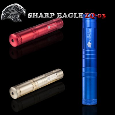 Sharp Eagle ZQ - LA - 03 Laser PointerLaser Pointer<br>Sharp Eagle ZQ - LA - 03 Laser Pointer<br><br>Brand: SHARP EAGLE<br>Model: ZQ-LA-03<br>Type: Laser Pointer<br>Laser Color: Green Laser Pointer<br>Wavelength Range (nm): 532nm, 532nm, 532nm<br>Battery Type: 16340<br>Number of Batteries: 1 x 16340 battery (not included)<br>Function: For Office and Teaching, For Astronomers, For Outdoor Sporting<br>Shape: Flashlight Shaped<br>Material: Aluminum Alloy<br>Product Weight: 0.067 kg<br>Package Weight: 0.139 kg<br>Product Size(L x W x H): 12.5 x 2.2 x 2.2 cm / 4.91 x 0.86 x 0.86 inches<br>Package Size (L x W x H): 14.5 x 3.2 x 3.2 cm / 5.70 x 1.26 x 1.26 inches<br>Package Contents: 1 x Sharp Eagle ZQ-LA-03 Laser Pointer