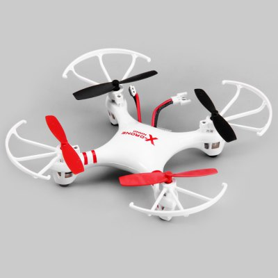 Helicute H107R X-drone Nano 6 Axis Gyro 4CH 2.4G RC Quadcopter with 3D Eversion Aircraft