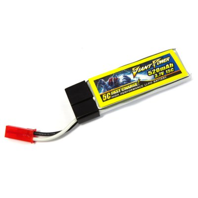 3.7V 520mAh 15C Giant Power Battery for NineEagle 322A V929 / LadyBird V959 120SR MQX
