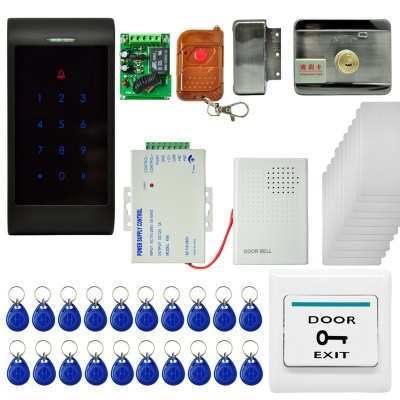 MJPT006 Double Door Password ID Card Attendance Control Security System