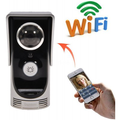 WiFi Camera Video Intercom Doorbell Motion Detection Support Night Vision Function