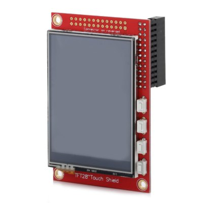 2.8 inch Raspberry Screen Board Resistive Touch Shield 320 x 240 for Raspberry Faction B+ / B
