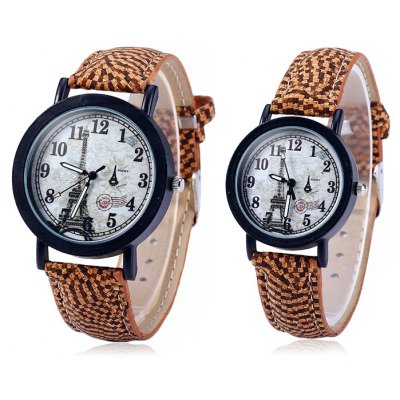 Weesky Lover Eiffel Tower Quartz Watch