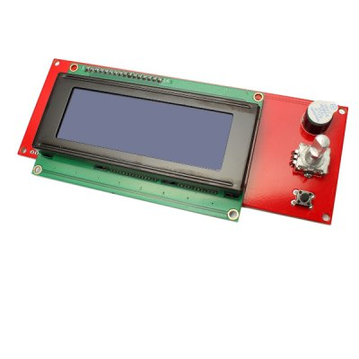 RAMPS1.4 2004 LCD Screen ModuleLCD,LED Display Module<br>RAMPS1.4 2004 LCD Screen Module<br><br>Type: RAMPS1.4 2004 LCD Screen Module<br>Package Weight: 0.195 kg<br>Product Size(L x W x H): 15 x 6.3 x 3.5 cm / 5.90 x 2.48 x 1.38 inches<br>Package Size(L x W x H): 18 x 8 x 5 cm / 7.07 x 3.14 x 1.97 inches<br>Package Contents: 1 x RAMPS1.4 2004 LCD Screen Module