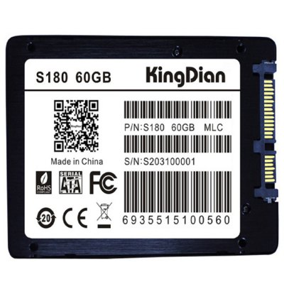 Гаджет   KingDian S180 Solid State Drive SSD Computer Parts & Accessories