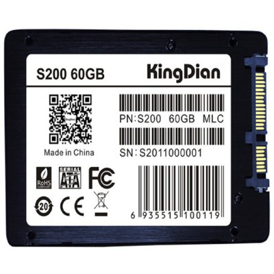 Гаджет   KingDian S200 Solid State Drive SSD Computer Parts & Accessories