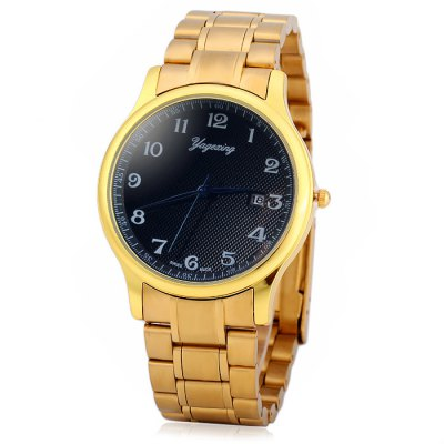 Yagexing Date Function Male Quartz Watch