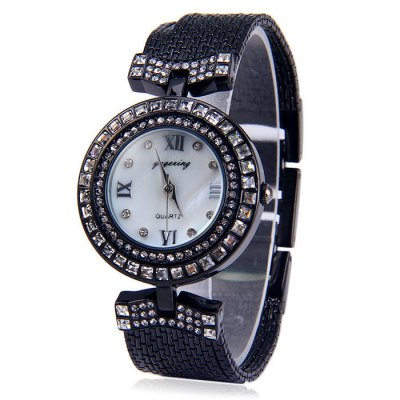 ФОТО Yagexing Steel Tassels Women Quartz Chain Watch Water Resistance