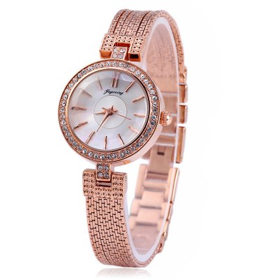 ФОТО Yagexing Water Resistance Steel Tassels Women Quartz Chain Watch
