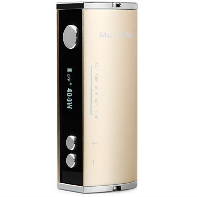 Royalola iMacy TC 40W Temperature Control Variable Wattage 2200mAh E - Cigarette Box Mod 510 Thread
