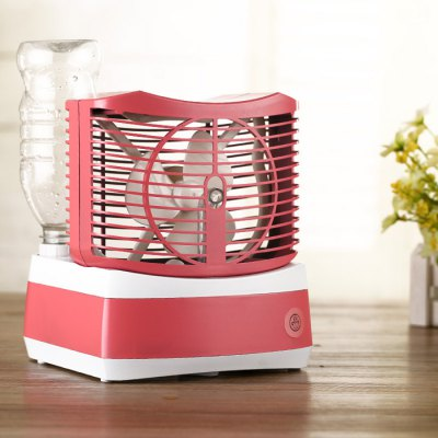 Fan Humidifier Desktop Air-conditioning FanHome Gadgets<br>Fan Humidifier Desktop Air-conditioning Fan<br><br>Type: Air Conditioner Fan, Cooling Fans, Mini Fans<br>Power Input: AC 110 - 240V / 50 - 60 HZ<br>Power Output: DC 24V / 800mA<br>Wattage: 20W<br>Quantity of Fog: 80 - 100ml / hour<br>Features: Aadjustment<br>Material: Plastic<br>Color: Pink, Blue, Green<br>Product weight   : 0.600 kg<br>Package weight   : 0.730 kg<br>Product size (L x W x H)   : 20 x 17 x 17 cm / 7.86 x 6.68 x 6.68 inches<br>Package size (L x W x H)  : 25 x 20 x 20 cm / 9.83 x 7.86 x 7.86 inches<br>Package Contents: 1 x Fan Humidifier, 1 x Adapter