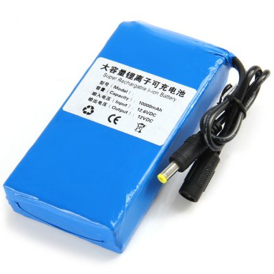 10000mAh Super Rechargable Li-ion Battery