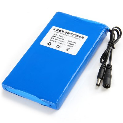 12000mAh Super Rechargable Li-ion Battery