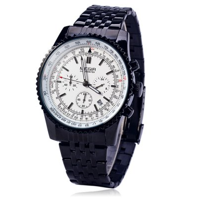 MEGIR 2009 Male Japan Quartz Watch - MEGIRMens Watches<br>MEGIR 2009 Male Japan Quartz Watch<br><br>Brand: MEGIR<br>Watches categories: Male table<br>Watch style: Business<br>Available color: Black, White<br>Movement type: Quartz watch<br>Shape of the dial: Round<br>Display type: Analog<br>Case material: Alloy<br>Band material: Stainless steel<br>Clasp type: Folding clasp with safety<br>Special features: Date, Moving small three stitches<br>The dial thickness: 1.2 cm / 0.47 inches<br>The dial diameter: 4.6 cm / 1.81 inches<br>The band width: 2.0 cm / 0.79 inches<br>Product weight: 0.114 kg<br>Package weight: 0.164 kg<br>Product size (L x W x H): 22 x 4.6 x 1.2 cm / 8.65 x 1.81 x 0.47 inches<br>Package size (L x W x H): 12 x 5.6 x 3 cm / 4.72 x 2.20 x 1.18 inches<br>Package Contents: 1 x MEGIR 2009 Watch