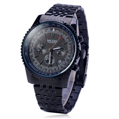 Гаджет   MEGIR 2009 Male Japan Quartz Watch Men