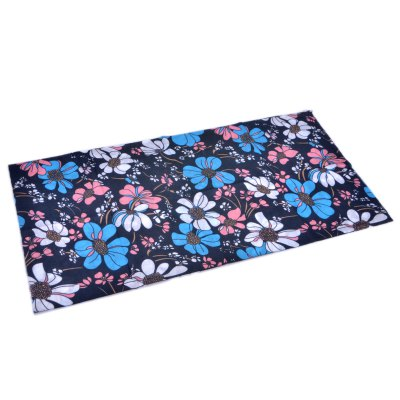 XMS - 13 Floral Pattern Riding Headscarf - 49 x 24cmOther Camping Gadgets<br>XMS - 13 Floral Pattern Riding Headscarf - 49 x 24cm<br><br>For: Outdoor<br>Material: Fleece<br>Functions: Soft-touch, High quality, Sun protection, Keep Warm, Decoration, Windproof, Stylish<br>Color: Black<br>Product weight   : 0.030 kg<br>Package weight   : 0.082 kg<br>Product size (L x W x H)   : 12.5 x 12.5 x 1.0 cm / 4.91 x 4.91 x 0.39 inches<br>Package size (L x W x H)  : 13.5 x 13.5 x 2.0 cm / 5.31 x 5.31 x 0.79 inches<br>Package contents: 1 x Headscarf
