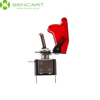 Sencart 12V 20A LED Toggle Switch for Modified Racing CarsLED Accessories<br>Sencart 12V 20A LED Toggle Switch for Modified Racing Cars<br><br>Brand: Sencart<br>Type: Car Light<br>Car light type: Tail Light, Daytime Running Light, Emergency Strobe Flash Light, License Plate Light, Door lamp, Brake Light, Strip Light, Headlamp, Turn Signal Light, Side Marker Light, High / Low Beam Lamp, Fog Lig<br>Connector: Cable Connector<br>LED: 1<br>Available Light Color: White, Yellow, Red, Blue<br>Voltage (V): DC 12<br>Features: Easy to use<br>Sheathing Material: ABS<br>Product weight: 0.038 kg<br>Package weight: 0.100 kg<br>Product size (L x W x H): 6.8 x 5 x 1.7 cm / 2.67 x 1.97 x 0.67 inches<br>Package size (L x W x H): 8 x 5.5 x 4 cm / 3.14 x 2.16 x 1.57 inches<br>Package Contents: 1 x Car Light LED Rocker Switch